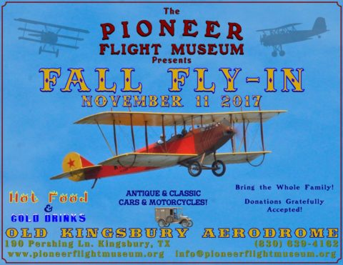 2017 Pioneer Flight Museum Fall Fly-In