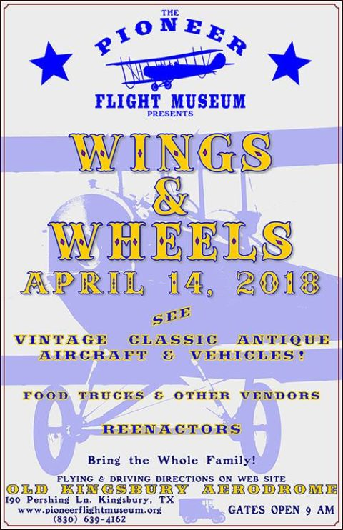 Pioneer Flight Museum Spring 2018 Fly-In